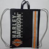 Polyester 600d personnalisé sac à dos Sac avec lacet de serrage