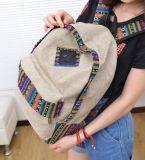 Изготовленный на заказ оптовый новый ультрамодный Backpack способа холстины мешка школы (BDY-1707023)
