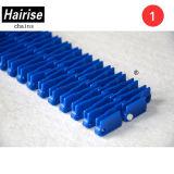De Blauwe pp Modulaire Opgeheven Bevrijde Transportband van Hairise met Ce