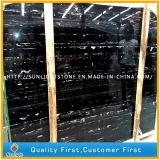 도와를 위한 중국 건축재료 은 용 검정 대리석 돌