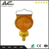 Zylinder-Geformte Fahrbahn-Sicherheits-mini vorbildliches bewegliches Solarbarrikade-Licht