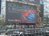 Écran de publicité polychrome extérieur d'Afficheur LED de centre commercial de Fws