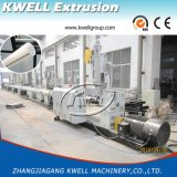 Ligne en plastique d'extrusion de pipe de HDPE/PPR, pipe d'évacuation d'eau de pluie faisant la machine