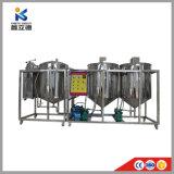 Máquina de refinaria de óleo de coco /Refinaria de óleo de colza /Fábrica de refino de petróleo bruto