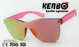 Lentille en une seule pièce des lunettes à revêtement coloré PK70351