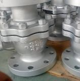 Un elenco de la API216wcb de válvula de bola de acero al carbono con 150lb 300lb 600lbs.