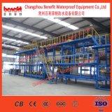 Автоматическая система Sbs/ APP изменения битума водонепроницаемые мембраны машина изготовлена в Китае