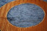290GSMによる青いシュニールのソファーファブリック