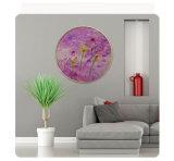 Abstrakte HD gedruckte Lotos-Blumen-Ölgemälde auf Segeltuch