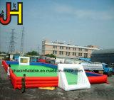 Campo de futebol insuflável, parede de Futebol de sabão inflável Tribunal Parque infantil