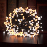 Het Licht van witte/Warme Witte LEIDENE Kerstmis van de Voetzoeker met de Functie van het Geheugen van 8 Wijzen