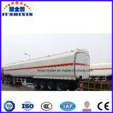 반 Jsxt 유조선 세 배 차축 기름 연료 탱크 트레일러 판매를 위한 트레일러 45000 리터 연료 유조선