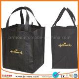 Grande sacchetto non tessuto durevole piegante personalizzato di acquisto