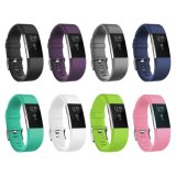 Custom Colors Elastic Silicone Watch Strap for Fitbit Charges 2