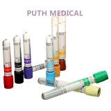 O tubo de coleta de sangue de vácuo (sem aditivo tubo)