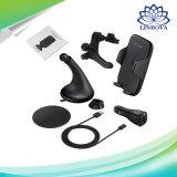 Cargador de coche inalámbrica rápida Soporte para teléfono soporte con ventosa y de ventilación de aire