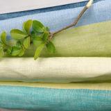 La tela de lino pura, hilado teñió al lino, al lino de la tira, al lino de la ropa, al lino de la alineada de la camisa para las mujeres y a hombres