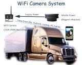 Cámara de reserva montada carro al aire libre de WiFi de la opinión del APP de la distancia de HD720p los 30m WiFi con la batería