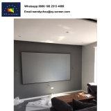 L'écran de projection de couleur noire pour Home Cinéma