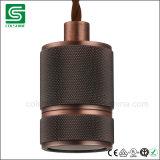 Da antiguidade industrial do suporte da ampola da lâmpada do vintage encaixe retro de Edison Es E27
