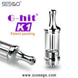 De g-Klap van Seego K1 de Nieuwe Tank van het Glas van de Manier E Cig Vape