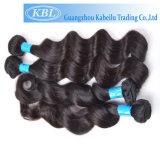 Выдвижение человеческих волос девственницы бразильское естественное (KBL-BH-BW)
