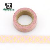 La aduana hace los modelos de oro del ratón de Micky del diamante de la hoja el color rosado Washi cinta pegajosa