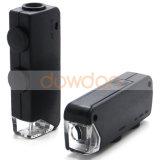 60X Super Mini Portable -100x loupe Loupe en verre avec LED