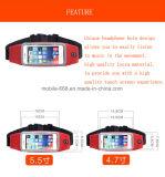 Sports en plein air de poche imperméable à l'eau exécutant la monture filtre de téléphone de taille pour des smartphones