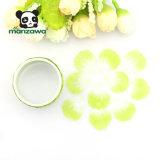 Kundenspezifisches Drucken-ziehen tiefgrünes Blumen-Blumenblatt weg Washi Aufkleber-Band ab