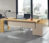Hölzernes Büro-Executivschreibtisch-Büro-Schreibtisch mit Schrank