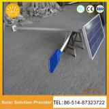 O LED de energia solar de alta potência de iluminação exterior com a bateria na parte superior