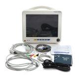 Registrador veterinário da temperatura do monitor paciente ECG do veterinário