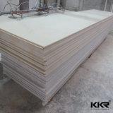 Superficie pura bianca del solido di Acryilc della decorazione della stanza da bagno e della cucina