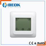 Termóstato programable semanal de la calefacción del sitio de pantalla táctil de la venta caliente
