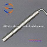 rodillo de aluminio de la parte radial FRP del diámetro de 21m m