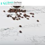 Камень кварца лидирующей реальной мраморный текстуры искусственний