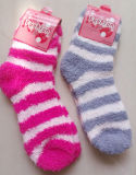 Romatic der Frauen Streifen-gemütliche Socken