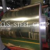 De Spiegel van China beëindigt het Blad van het Aluminium Relfective/de Gouden Rol van het Aluminium van de Spiegel van de Kleur