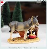 Het MiniatuurCijfer van het Beeldje van de Trog van Kerstmis van de douane