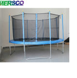 Hot of halls bend to Trampoline with Enclosure