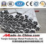 6061 T5 Tube en aluminium étiré à froid pour les pôles de tentes