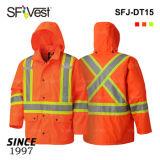 Водонепроницаемая куртка предупреждение высокой прозрачности работы износ безопасности рабочая одежда отражает Workwear безопасности