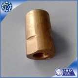 Heiße Verkäufe passten besonders CNC an, der rote anodisierte Aluminiumbuchse dreht