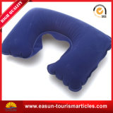 Viajes desechables almohadas inflables promocionales Cuello ajustable