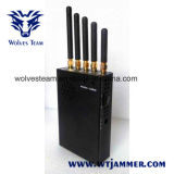 CDMA portátil 3W450 celular Jammer