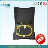 OTDR Kasten-/des Faser-OptikplastikOTDR Kasten mit Kabel G.-652D/Optik-OTDR Kabel-Spulen der Faser-