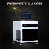 Bonne machine de gravure blanc de laser du cristal 3D de la qualité K9 au cadeau de promotion