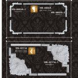 Corniche de polyuréthane de Corners&Frames de panneau d'unité centrale moulant Hn-8603ax