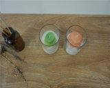 Candela di vetro in vaso di vetro, candela profumata di lusso di Aromatherapy, candele della tazza della candela profumata all'ingrosso della colonna